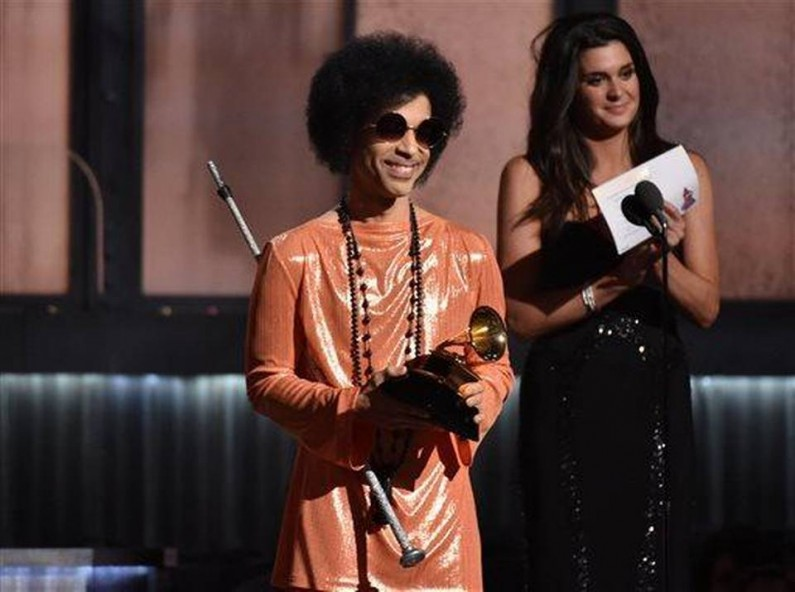 The Prince of the 2015 Grammy Awards